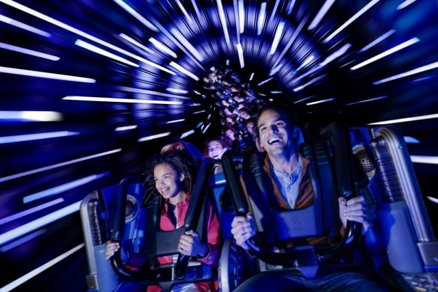 Disneyland® Discoveryland Hyperspace Mountain