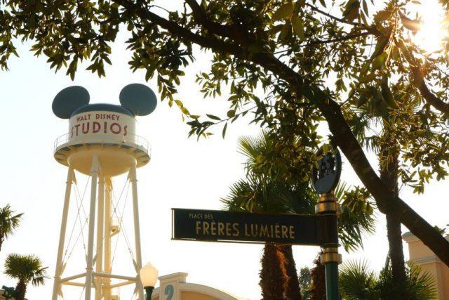 Disneyland® Walt Disney Studios Park Front Lot